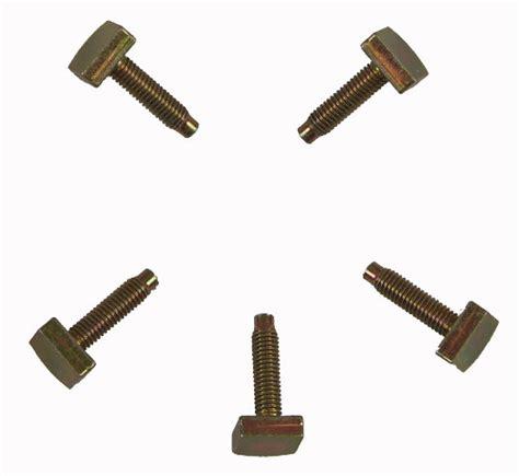 mitsubishi forklift bolts pack   offset head