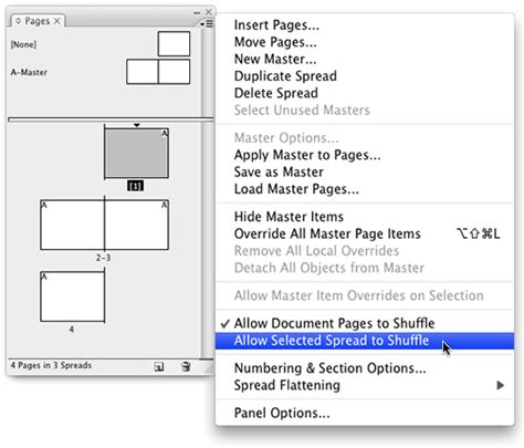 Creating Gatefold Spreads Indesignsecrets Indesignsecrets How To Create Page Template In