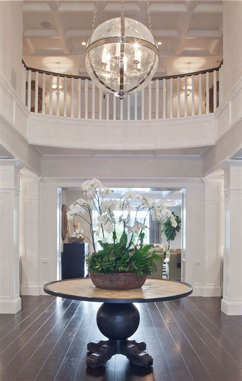 House Entrance Furniture Transitional Family Home With Classic Interiors Home