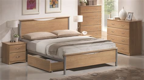 beech bed frames bed beech bed frame with storage drawer