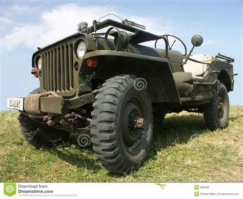 Jeep Us Us Army Jeep Stock Photos Image 982583
