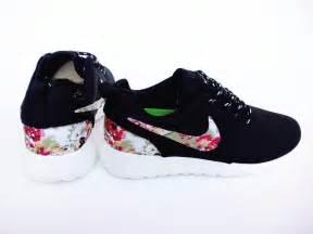 Over half off nike roshe run floral 2015 black 50 off sneakers 091