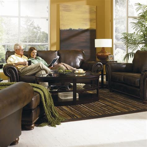 lane benson recliner lane benson 630 30 stationary sofa with nailhead trim