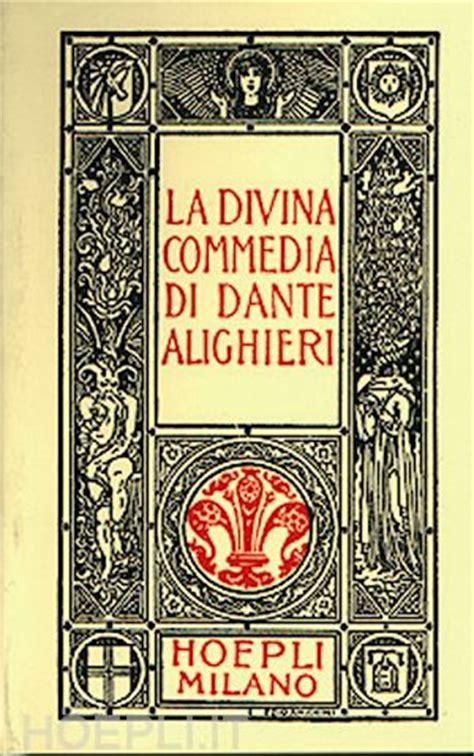 test divina commedia la divina commedia minuscolo alighieri dante hoepli