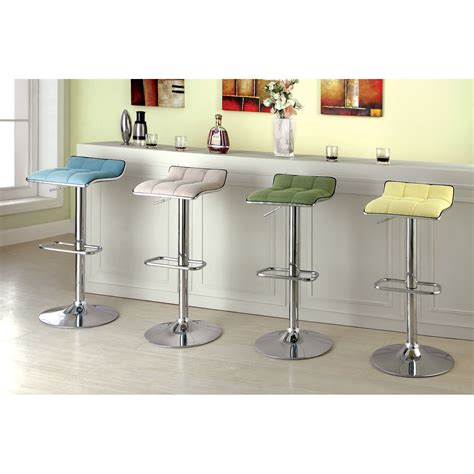 Contemporary Counter Height Swivel Bar Stools by 4 Contemporary Backless Counter Height Bar Stools For