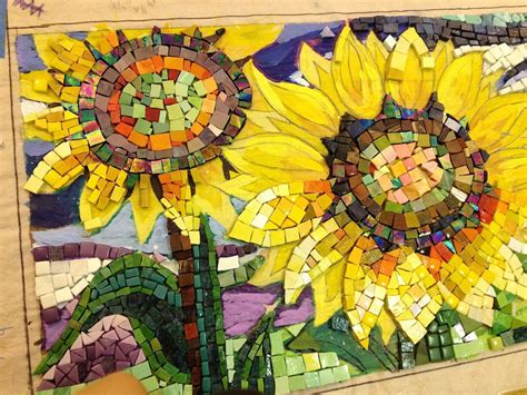 mosaic bench project keeps eco art alive during the winter at yale acres aeg group