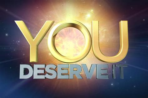 you deserve it new game show e tv