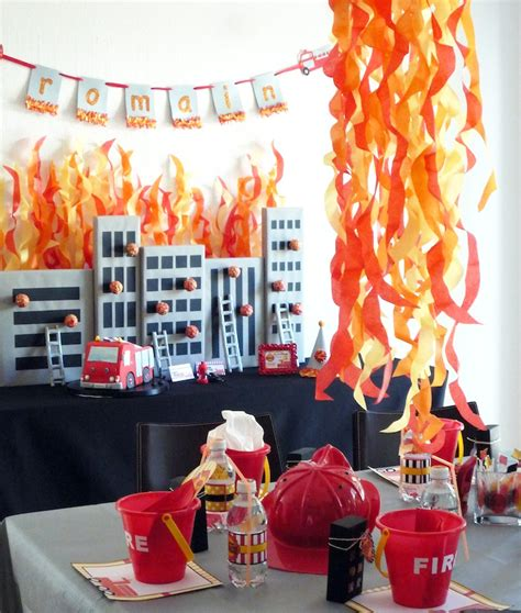 fire up theme junkie heat it up fireman theme the party people online magazine