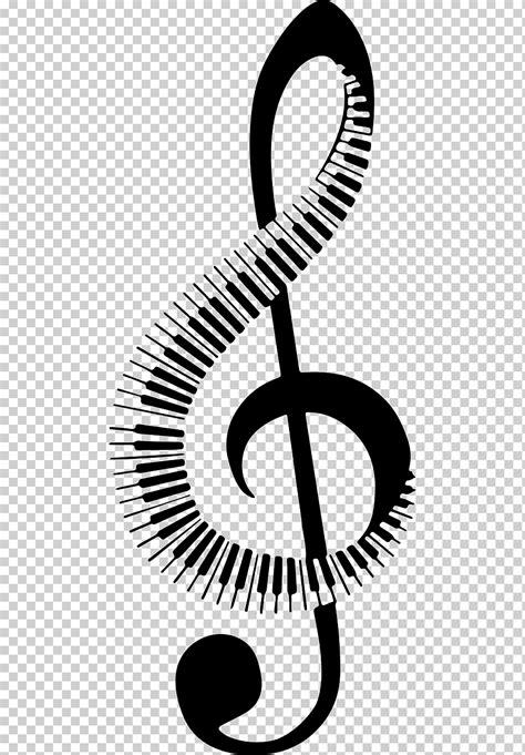 Nota musical teclado piano, nota musical, texto, monocromo