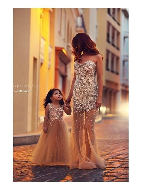 mother dresses son as daughter at bigcloset free custom made 2 pieces 249usd tulle long pearls