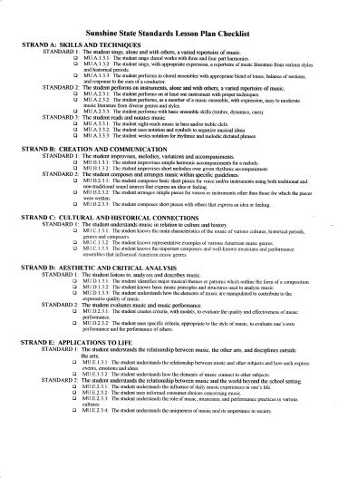 lesson plan templates for middle school lesson plan template middle school chorus adventures