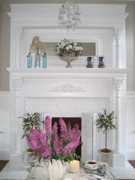 shabby chic mantle shabby chic mantle for the home