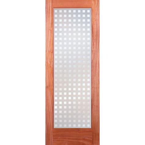 Feather River Interior Doors Feather River Doors 30 In X 80 In Pantry Woodgrain 1 Lite Unfinished Oak Interior Door Slab