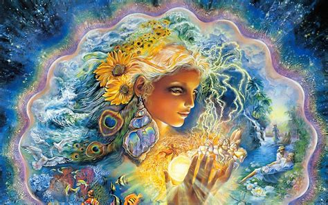 goddess of color josephine wall god goddess artistic colors