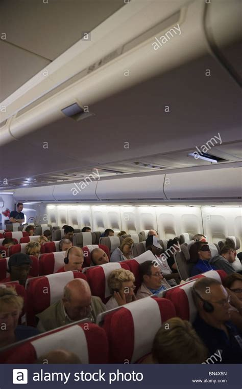 interior of atlantic transatlantic boeing 747 jumbo