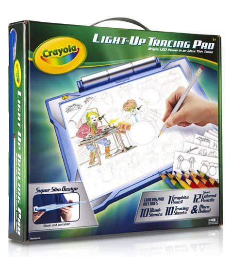 crayola star wars light up tracing pad crayola light up tracing pad blue childs activity set draw