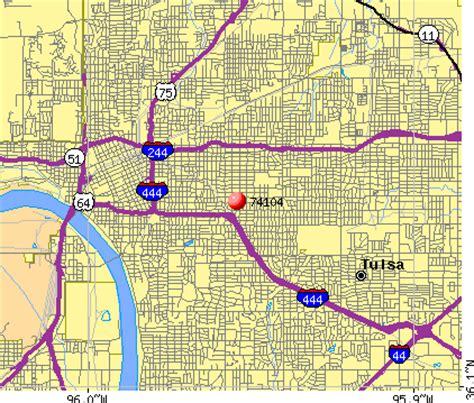 tulsa zip code map 74104 zip code tulsa oklahoma profile homes apartments schools population income