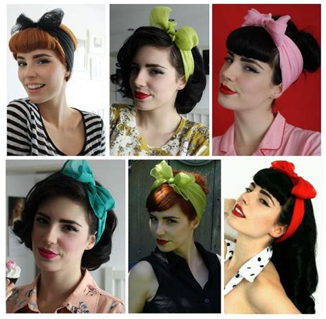 Pin Up Scarf Hairstyles by 12 Best Images About 1950s Hairstyles On