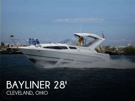 boats for sale cleveland ohio area sold bayliner 2855 ciera se boat in cleveland oh 085706