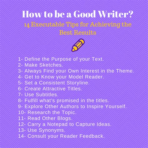how to be a how to be a writer tips to empower your texts
