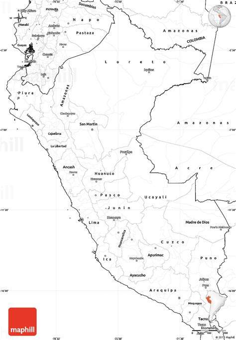 coloring page map of peru perunmap free coloring pages