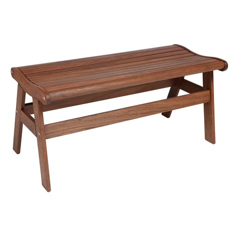 wrought iron backless bench milgreen patio furniture ipe amber backless bench 6178