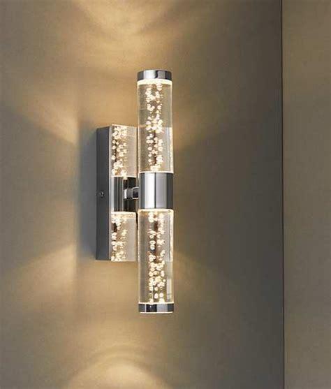 bathroom safe led bubble acrylic wall light  sizes