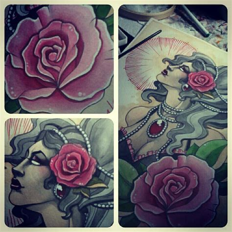 ava rose tattoo electric tattoos misc artwork had sooo much