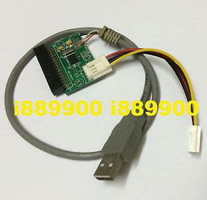 Converter Floppy To Usb 34pin floppy connector to usb adapter cable