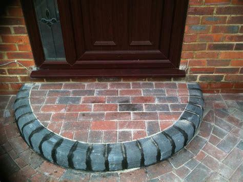 block paving doorstep abbey paving block paving