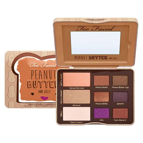 Eyeshadow Faced peanut butter jelly eyeshadow palette faced mecca