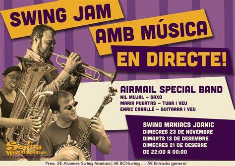 musica swing eventos swing jam con m 250 sica en directo 13 12 2016