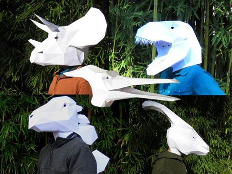 Papercraft Costumes - these are the most impressive papercraft masks you will