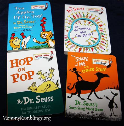dr seuss s book of colors bright early books r books the blue box of bright and early board books by dr