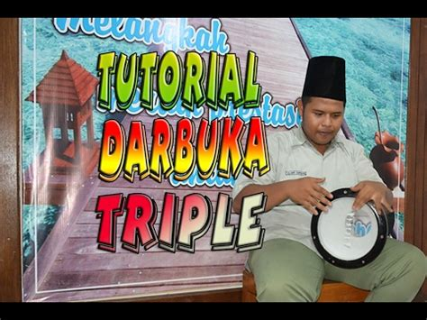 tutorial darbuka tutorial darbuka triple simple dan mudah youtube