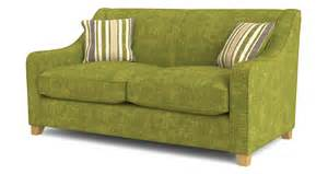 Loveseat Bed Dfs Rachel Lime Green Fabric 2 Seater Sofa Bed Ebay