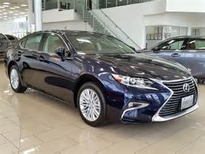 Lexus 350es 2016 Lexus Es 350 Entry Level Blue Erin Park Lexus New