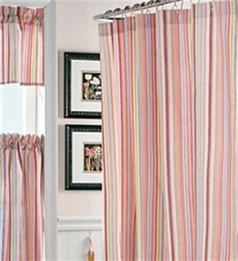 raspberry striped curtains com cottage stripe shower curtain raspberry