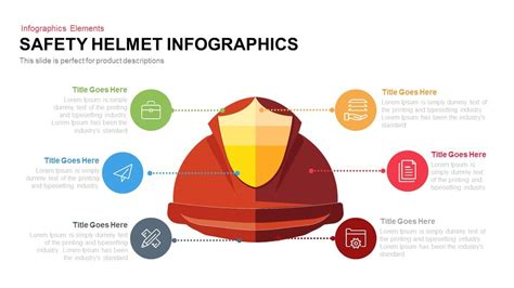 safety templates for powerpoint free download safety helmet infographics powerpoint keynote slidebazaar