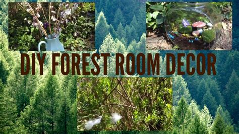 forest room diy forest room decor