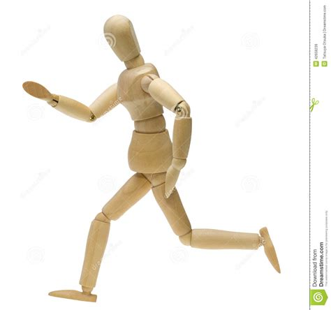 design doll poses doll in running pose stock photo image 42658239