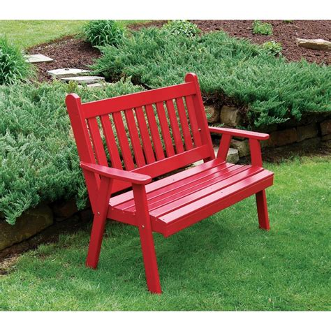 pine garden bench pine 6 traditional english bench a l