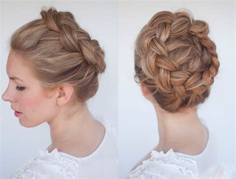 new braid tutorial the high braided crown hairstyle top 100 hairstyles 2014 15 stylish party casual hairstyles
