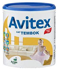 cat tembok avitex kg pt rama distributor avian