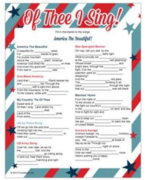 printable song lyrics quiz printable presidential trivia for president s day