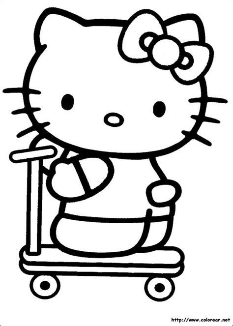 dibujos para colorear kitty dibujos para colorear de hello kitty