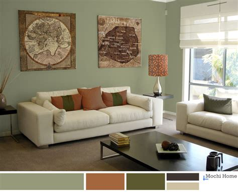 sage green living room ideas sage green and white living room