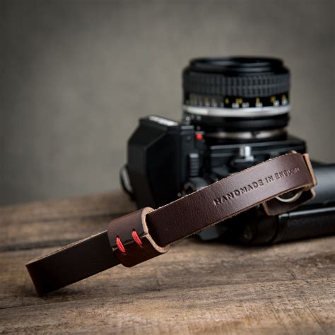 oxford leather wrist brown leica nikon fujifilm sony