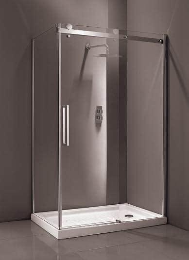 Mere Bravo 1700mm 8mm Thick Glass Sliding Frameless Shower
