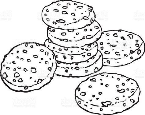 cookie doodle free top chocolate chip cookie doodle vector drawing